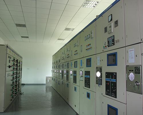 紫红洲大泵站配电房