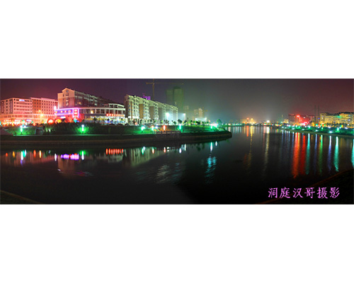 小叶湖公园夜景