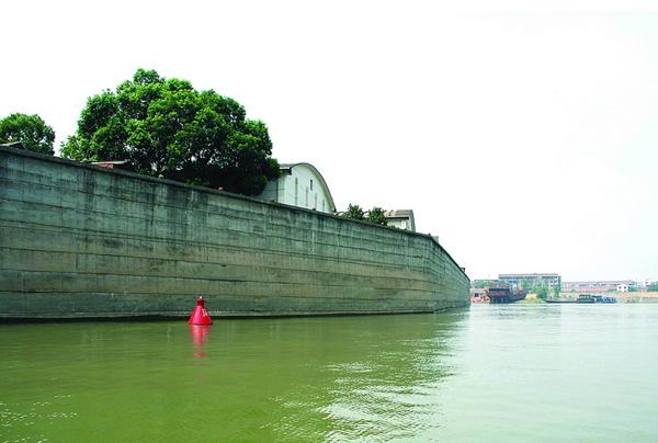 城市防洪墙